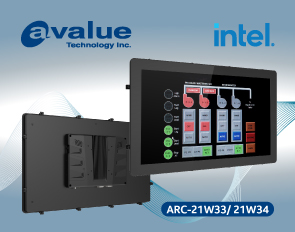 Avalue debuts rugged touchscreen panel PCs ARC-21W33/ARC-21W34