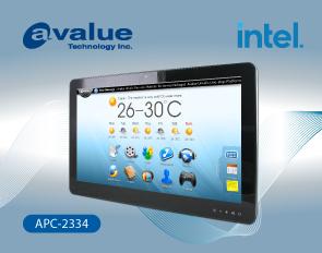 Avalue APC full-flat multi-touch panel PC APC-2334