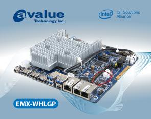 Avalue introduces EMX-WHLGP, a 8th Gen Intel® Whiskey Lake U Core™ SoC i7/i5/i3 & Celeron®BGA Onboard Processor Thin MINI ITX motherboard