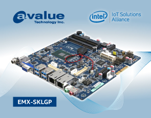 Avalue introduces EMX-SKLGP, a Thin Mini ITX 6th Gen Intel® Core™ SoC i7/i5/i3 & Celeron® Embedded Industrial motherboards