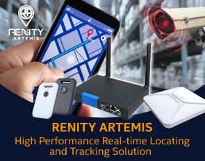 Avalue Technology and GIPS Technology cooperate to create RENITY ARTEMIS High performance Real-time Locating and Tracking Solution