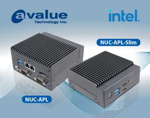 Avalue's tiny mini fanless system, NUC-APL & NUC-APL-slim. Go small, get big!