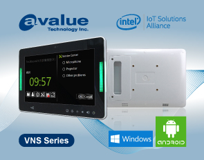 Avalue debuts VNS-series multifunctional touch panel PC