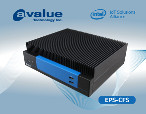 安勤推出搭载Intel® Coffee Lake强固型无风扇嵌入式系统 - EPS-CFS