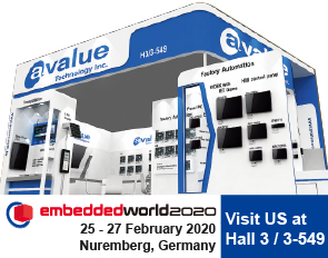 Meet Avalue at Embedded World 2020 in Nuremberg