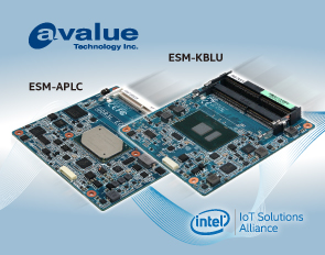 Avalue Announces Type 6 Computer-on-Module (COM) Express® Compact Module, ESM-APLC and ESM-KBLU