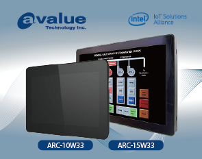 Avalue ARC industrial-grade touch panel PCs introduce widescreen series