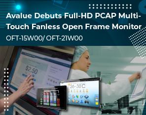 安勤新推出嵌入式多点触控萤幕OFM-15W00/ OFM-21W00