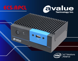 Avalue introduces the Latest Embedded Products with Intel® Apollo Lake Processor ECS-APCL, an Intel Celeron J3455 Fanless System