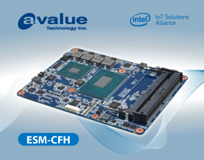 Avalue's Latest PICMG COM R3.0 Type 6 module, ESM-CFH